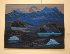 Annelise Kofoed-Hansen, The Flying Umiaq 2 Rebecca Mezoff, Tapestry Artist: American Tapestry Biennial 10, San Diego