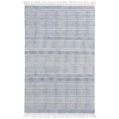 Bayside Stripe Rug, Blue