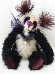 'Blackbeary' Panda Bear by Wee Beary Tails
