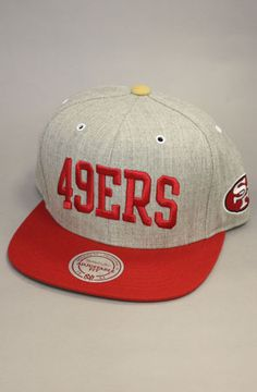 San Francisco 49ers Snapback Hat -cause my handsome BF LOVES the 49ers!