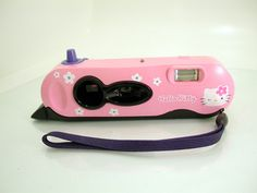 Hello Kitty Polaroid I-Zone Instant Film Camera Sanrio  - SOLD - Other items up for sale here! http://www.ebay.com/sch/pealfaro/m.html?_nkw=&_armrs=1&_from=&_ipg=&_trksid=p3686