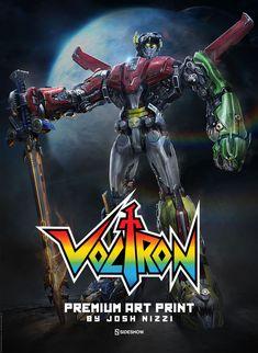 Voltron: Defender of the Universe Voltron Premium Art Print | Sideshow Collectibles