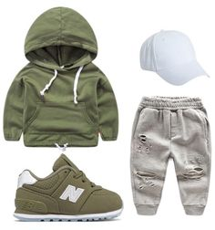 Cute baby outfits suitable for any baby boy. Baby Outfits, Outfits Niños, Toddler Outfits, Cute Baby Boy Outfits, Toddler Boy Fashion, Little Boy Fashion, Toddler Boys, Kids Fashion, Fashion Clothes