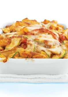 Tuscan Vegetable Baked Ziti – The smartest thing you can do with this low-cal, low-fat meal is enjoy it with the people you love. This better-for-you ziti is still filled with cheesy goodness.