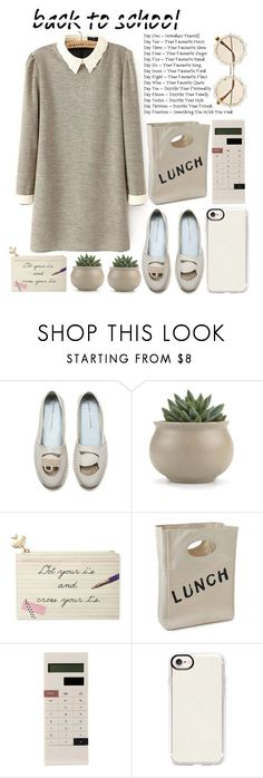 """""""Go Back To School Shopping"""" by emcf3548 ❤ liked on Polyvore featuring Kate Spade, Mark's, Casetify and BackToSchool"""