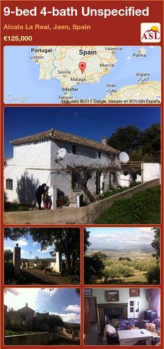 9-bed 4-bath Unspecified in Alcala La Real, Jaen, Spain ►€125,000 #PropertyForSaleInSpain