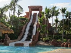 Crazy water slides. | slides
