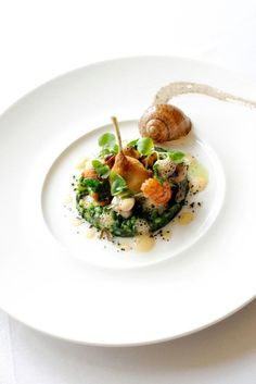 Michael Cains at Gidleigh Park #plating #presentation