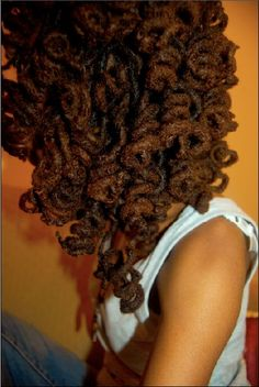 ~Loc ♥~ Click the image for Aprill's natural hair photos and regimen