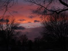 Sunset Down My Street Feb 24 2015 by Ken Groezinger