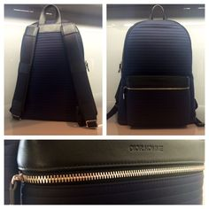 Dior Homme Blue Backpack Cuir de veau plissé #dior #homme #blue #leather #backpack #rare #men #diorhomme #bleu