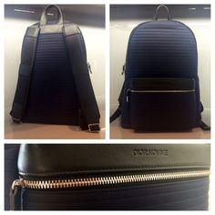 Dior Homme Blue Backpack Cuir de veau plissé #dior #homme #blue #leather #backpack #rare #men #diorhomme #bleu