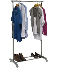 Adjule Chrome Plated Clothes Rail Grey At Argos Co Uk Your