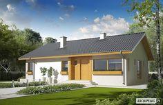 Projekty domów ARCHIPELAG - Eryk