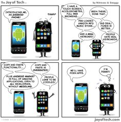 Android vs iPhone (Humor)