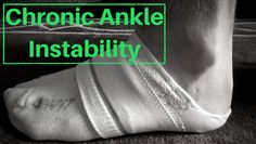 Chronic Ankle instability running injury