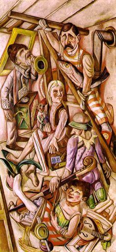 Max Beckmann, The Dream, 1921
