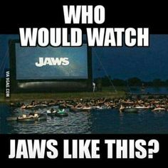 Jaws anyone?