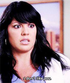 season 3 greys anatomy callie torres sara ramirez i dont like you trending #GIF on #Giphy via #IFTTT http://gph.is/2bH5kCN