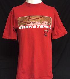Miami Heat NBA Medium Short Sleeve Tee T-Shirt #NBA #MiamiHeat