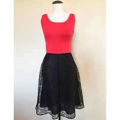 A-Line (Black) Lace Skirt sz 8P A-Line (Black) Lace Skirt sz 8P▪️It's pre-owned but in great condition. It has a side zipper. The top is NOT included.                                                                        NO TRADES NO PAYPAL Skirts A-Line or Full