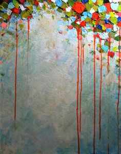 Original Acrylic Painting- Lets Celebrate-