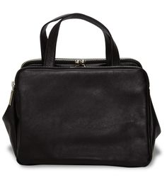 Zip Detail Doctor Bag