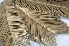 Feather Branches Gold 34in|Pack of 6