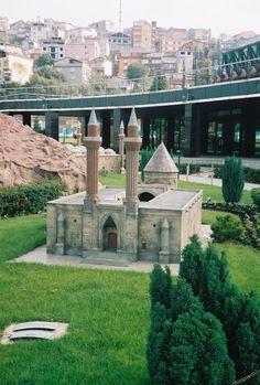 Miniaturk miniature park in  Istanbul Turkey