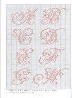 Gallery.ru / Фото #4 - Belles lettres au point de croix - logopedd