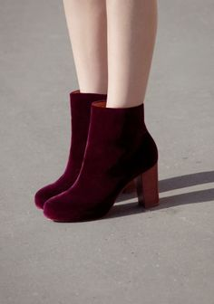 Velvet Ankle Boots, & Other Stories