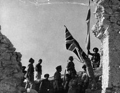 THE BATTLE OF MONTE CASSINO JANUARY-MAY 1944 (HU 128195)