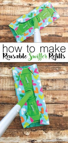 DIY Sewing Projects for the Kitchen - Reusable Swiffer Refills - Easy Sewing Tutorials and Patterns for Towels, napkinds, aprons and cool Christmas gifts for friends and family - Rustic, Modern and Creative Home Decor Ideas http://diyjoy.com/diy-sewing-projects-kitchen