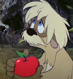 Gurgi from The Black Cauldron, 1985.  You don't hear about this movie anymore.