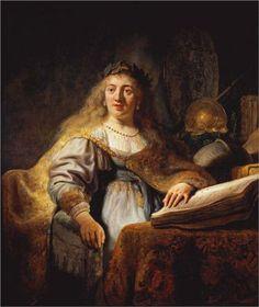 Minerva - Rembrandt, 1635