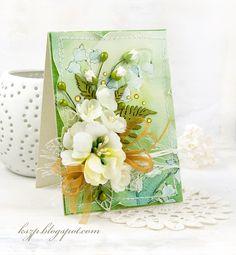 Witajcie :)  Wraz z dzisiejszą pracą zapraszam Was na trwający konkurs urodzinowy Agaterii .  Przygotowałam zieloną karteczkę z bukietem na ...