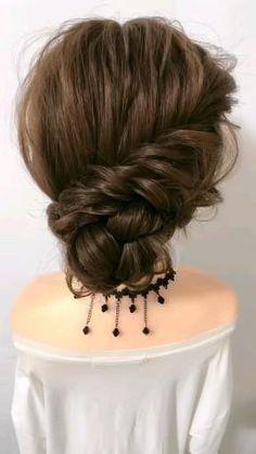 Up Dos For Medium Hair, Long Hair Video, Short Hair Updo, Easy Hairstyles For Long Hair, Easy Upstyles For Medium Hair, Casual Updos For Long Hair, Hair Extensions For Short Hair, Chignon Hair, Popular Hairstyles