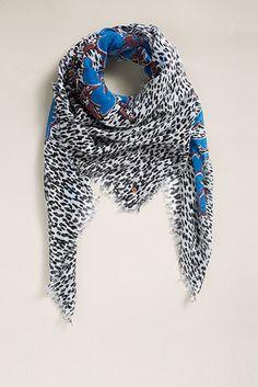 EDC / Printed sjaal van 100% katoen