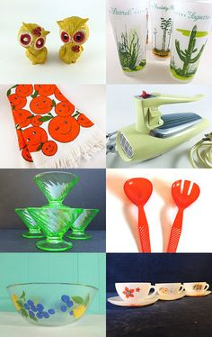 Retro Kitchen by Pam on Etsy--Pinned with TreasuryPin.com