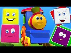 bob o trem rimas para crianças | bob compilação do trem em português - YouTube