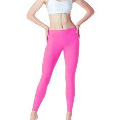 Tesla FYP42 Women's High-Waisted Ultra-Stretch Tummy Control Yoga Pants#apos#High#Waisted