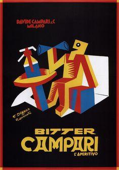 Fortunato Depero. Bitter Campari. 1928   Flickr - Photo Sharing!