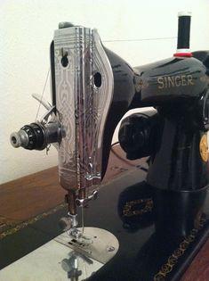 Restored 15-90 Singer Sewing Machine