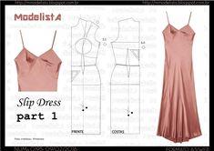 slip dress part 1 - diy how to make idea tutorial how to