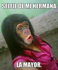 Selfie de mi hermana mayor #compartirvideos #imagenesdivertidas