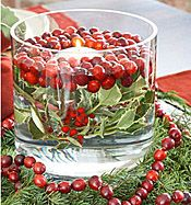 Day 9 - Table Decorations  DIY Christmas Table Decorations Part 1-Wreaths & Bowls - Christmas Ornament Blog
