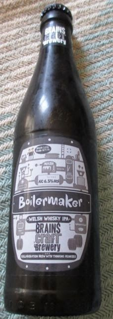 Foodstuff Finds: Brains Boilermaker Beer (Tesco @brainsbrewery) [By @SpectreUK]