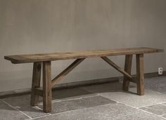 Reclaimed Furniture, Bench Furniture, Furniture Design, Fall Home Decor, Autumn Home, Old Benches, Scrap Wood Projects, Old Wood, Handmade Furniture