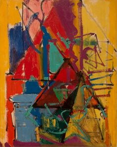 Weisman Art Museum, Hans Hofmann, Plywood, Painting, Oil, Hardwood Plywood, Painting Art, Paintings