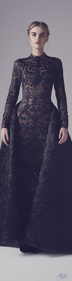 Spring 2016 Haute Couture Ashi Studio - Pin curated by http://www.thedailyfashioninspiration.com/